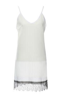 Silk Crepe Slip Dress by Nina Ricci for Preorder on Moda Operandi