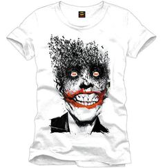 DC Comics T-Shirt Joker Originale Supereroi Maglia Film Batman Prodotto Ufficiale