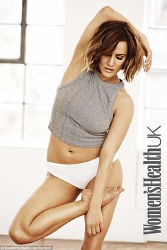 Caroline Flack devastated by body-shaming comments as she unveils gym-honed figure | Daily Mail Online