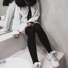 classy outfits plus size Swag Outfits, Grunge Outfits, Cute Casual Outfits, Girl Outfits, Fashion Outfits, Estilo Grunge, Aesthetic Girl, Aesthetic Clothes, Pastel Goth Outfits