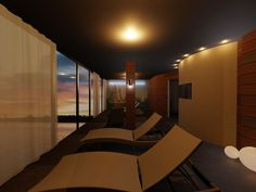 In our #SPA we have two places dedicated to relax with view of Mikolajki's lake.