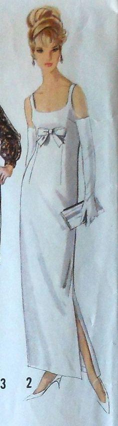 Classic 1960 wedding dress pattern. | Wedding Ideas | Pinterest ...