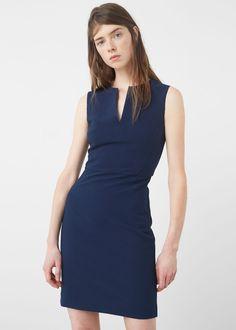 Seam bodycon dress - Dresses for Women | MANGO USA