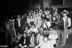 Pop stars attend a House of Commons reception invited by the Minister for the Arts Norman St JohnStevas 3rd August 1980