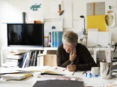 Ronan Bourourllec hard at work in his Parisian design studio - Freunde von Freunden