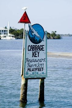 """Cabbage Key Florida.This restaurant is where Jimmy Buffett got his inspiration for """"CheeseBurger in Paradise"""". They are really good there!"""