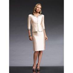 Mother Of The Bride Dresses | ... Formal Knee Length Mother of the Bride Dresses with Jacket himbmc4