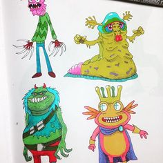 Impatiently waiting for season 3 of @rickandmorty, bitch! #ScaryTerry #BlimBlam #KingFlippyNipps #illustrate #illustration #illustrator #arts_help #copic #touchmarker #rickandmorty #aliens #sketch #sketchbook #sketching #drawing #drawdaily #art? #artist? #instart #fanart #cartoon #cartoonist #wubalubadubdub #PaddlesWorth #artist_sharing #artshare #molskine #molskineart #tagafriend