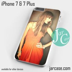 Taylor Swift With Sweet Dress Phone case for iPhone 7 and 7 Plus