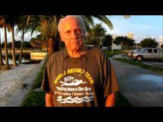 Bob Beach, 85, St. Petersburg, FL - Catalina Relay Swim - YouTube