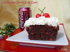 ALIMENTA: CHOCOLATE-CHERRY COLA CAKE da fare con cherry cola Bolero