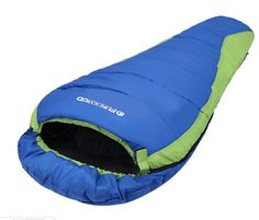 Mummy Sleeping Bag Outdoor Camping Hiking Warmly Sleep System With Carrying Bag from Crosslinks