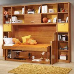 Hiddenbed® Fold-Out Bed and Desk Mechanism www.Rockler.com