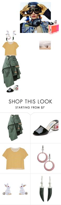 """""""when it comes"""" by lolo-green ❤ liked on Polyvore featuring Faith Connexion, Prada, Monki, CC SKYE, Les Néréides, NOVICA, StreetStyle, steampunk, TankGirl and postapocolytic"""