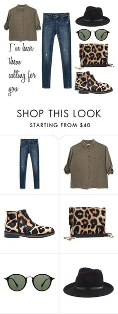 """""""I´ve hear them .."""" by alex-hllnz on Polyvore featuring Zara, Jaeger, Lanvin, Ray-Ban and rag & bone"""