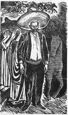 Zapata by Leopoldo Mendez