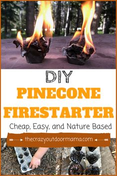 Check out these long burning homemade pinecone firestarters! They are easy, long burning, CHEAP, and work great for campfires or your woodstove! Diy Camping, Camping Crafts, Camping With Kids, Camping Hacks, Camping Essentials, Camping Ideas, Camping Trailers, Camping Recipes, Travel Trailers