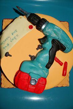 Fantastic cake idea for Makita fans