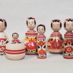 Japanese Mythology, Traditional Toys, Kokeshi Dolls, Wooden Dolls, Child Love, Kids Toys, Geisha, Instagram Posts, Inspiration