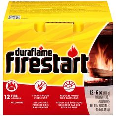 I'm learning all about Duraflame Inc. Duraflame Firestart 12Pk Case - DURAFLAME INC. at @Influenster!