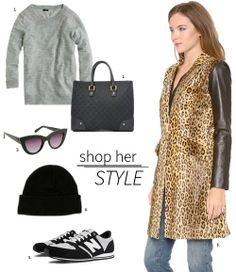 Shop Her Style // Spots & Sneakers