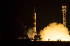Soyuz carrying Expedition 44 launched to the International Space Station.