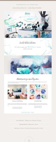 Clark Art, Website Design Inspiration, Fine Art, Abstract, Artist, Connect, Color, Summary, Artists