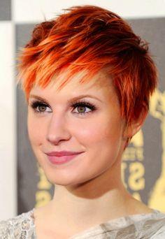 Hailey williams hair. #pixie #haileywilliams #beautiful  <3 I love her new pixie hair cut! Hawly!
