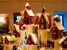 gingerbread village - - Yahoo Image Search Results