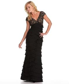 Adrianna Papell Formal Long Mother of the Bride Dress