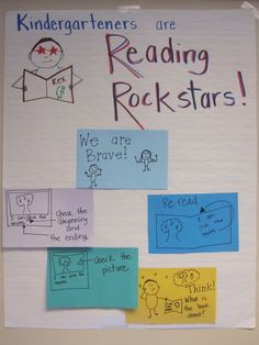 Anchor Chart - Brave Readers use Strategies to Figure out New Words