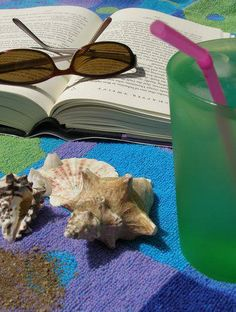 This will be happening the week of July 4th. Hot sand, bikini, beach towel, and a really good book.