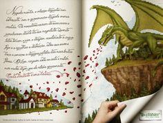 Anúncio da campanha de tecidos para bordar - Döhler Têxtil. Direção de criação e direção de arte.