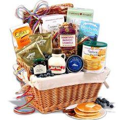 Wedding gift:New England Breakfast Gift Basket Deluxe