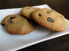 Delicious Paleo Chocolate Chip Cookie Recipe (From Bakergal.com)
