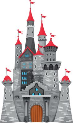 Grey Castle PNG Clipart Image - cute ideas for door hangers. Medieval Party, Medieval Castle, Drawing For Kids, Art For Kids, Castle Mural, Castle Drawing, Drawing Competition, Château Fort, Party Printables