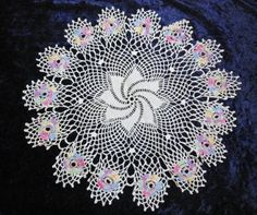 The artistry of a vintage Crochet Doily @ Vintage Touch ~ SOLD
