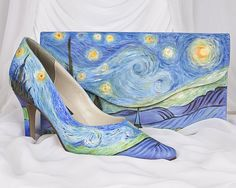 "Inspired by Van Gogh's ""Starry Night"""