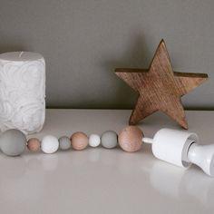 #Diy #Lampe #Holz #ikea #Stern #weiss #Deko #weiss