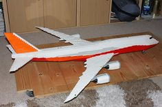 Lego Boeing 747-8I by Aviation Dave, via Flickr
