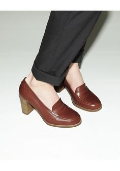 A.P.C. /  PENNY LOAFER PUMP