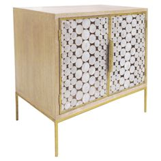 Oly Studio Serena Bedside Table @Zinc_Door