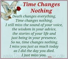 Daveswordsofwisdom.com: Time Changes Nothing