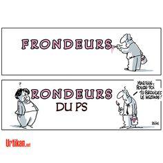 Martine et les Frondeurs - Dessin du jour - Urtikan.net