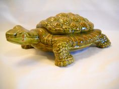 Vintage Ceramic Turtle By Arnel's