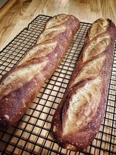 Easy Sourdough Baguettes for Beginners