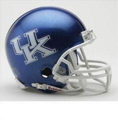 New! Collegiate Mini Replica Helmet - University of Kentucky #KentuckyWildcats