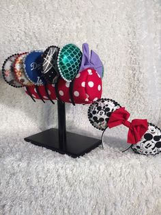 Minnie Mouse Ear Headband Display Minnie by LoveThoseDisneyEars