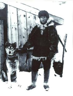Jack London in the Klondike(his house is a few towns away from us. It feels quite haunted.)