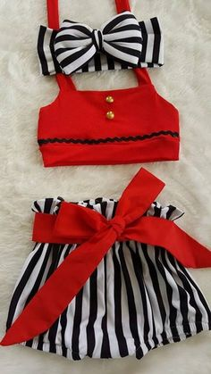 Cute Baby Dresses, Kids Outfits Girls, Cute Baby Clothes, Little Girl Dresses, Toddler Girl Dresses, Baby Outfits, Baby Girl Fashion, Fashion Kids, Baby Girl Dress Design